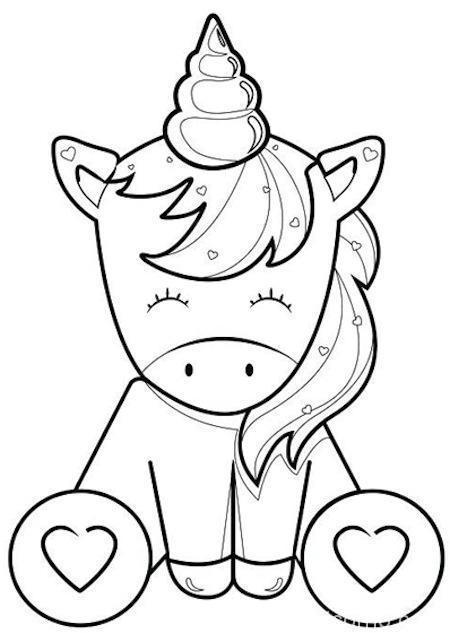 Unicorno Da Colorare.Disegni Unicorno Mondo Unicorno